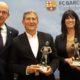 nov 2018 Sopar Penyes Barça , amb Eduard Boet i Jordi Cardoner